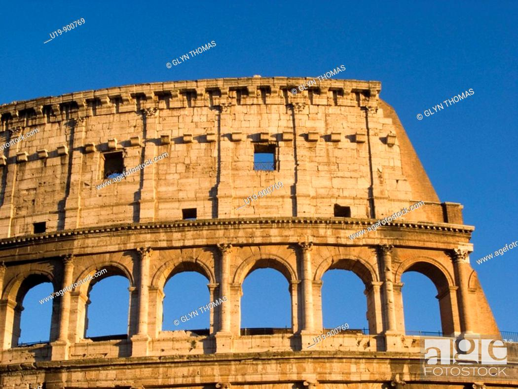 Stock Photo: Colosseum, Rome, Italy.