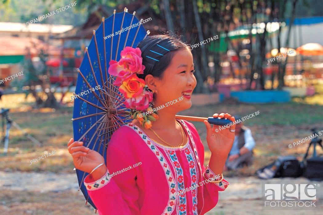 Stock Photo: Dai ethnic.