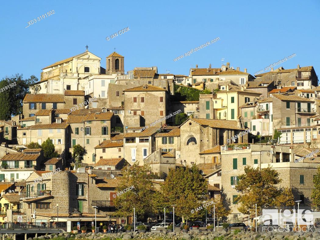 Stock Photo: Anguillaro Sabazia, Lazio Region, Italy.