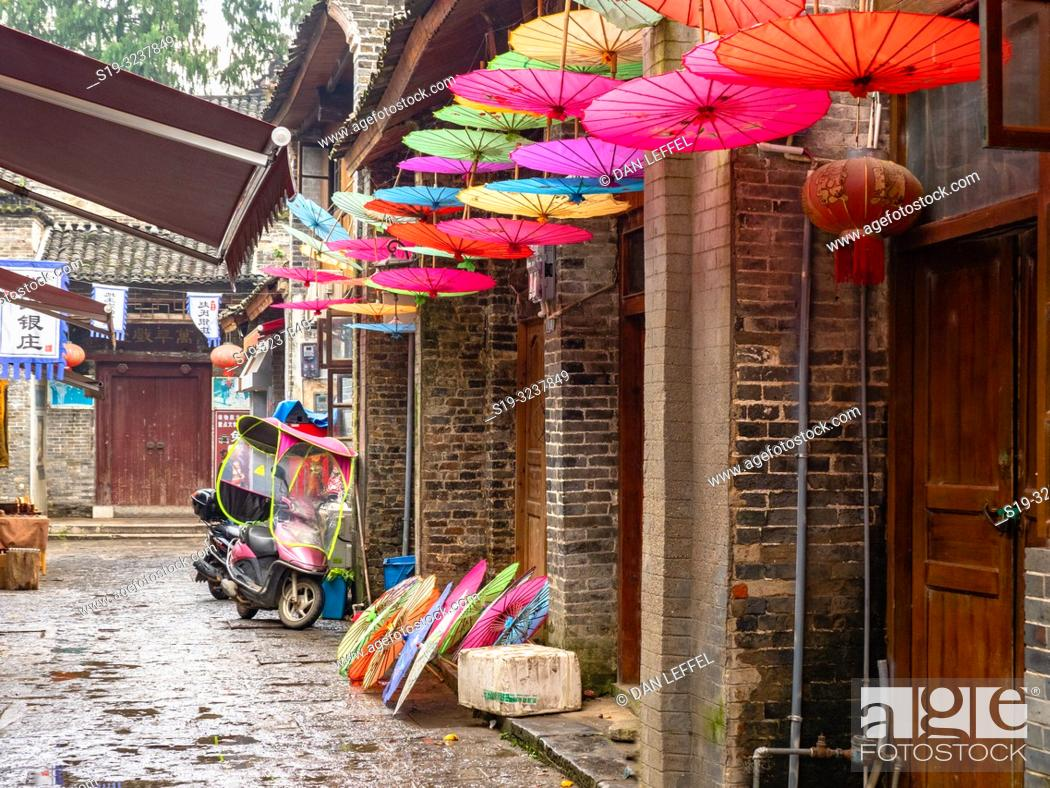 Stock Photo: China Guilin Street.