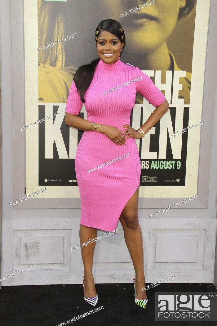 "Stock Photo: Karen Civil at Warner Bros. Pictures' """"The Kitchen"""" Premiere held at the TCL Chinese Theatre, Los Angeles, CA, August 5, 2019."