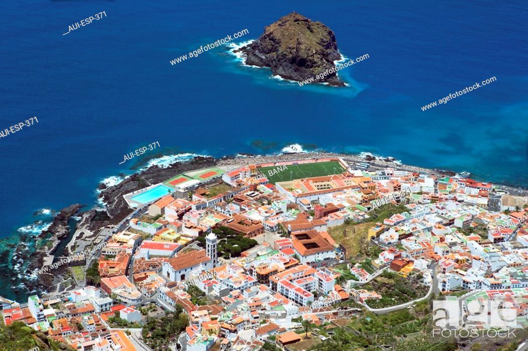 Stock Photo: Spain - Canary Islands - Tenerife - Isla Baja Region - Garachico.