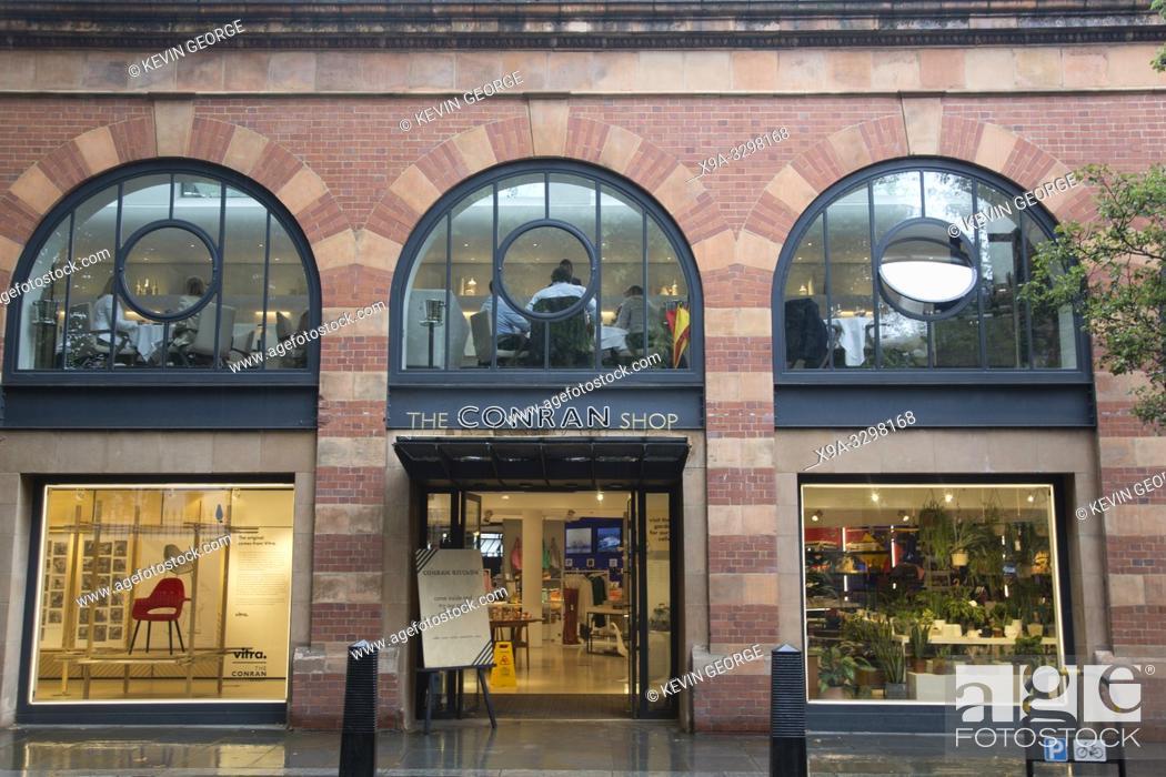 Stock Photo: Conran Shop; Marylebone; London; England; UK.