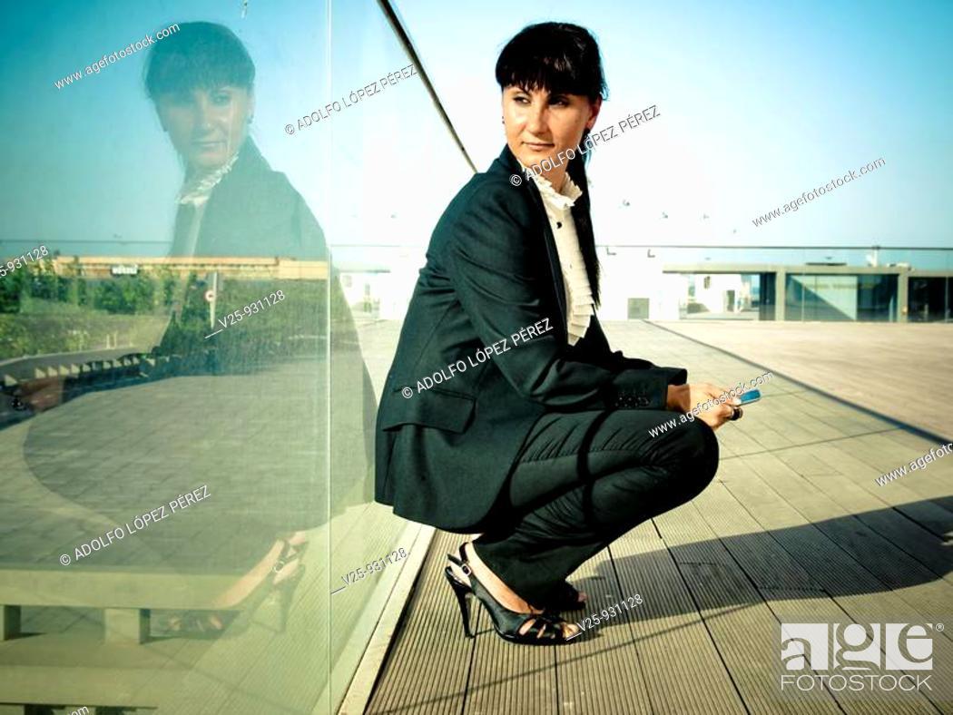 Stock Photo: Businesswoman.