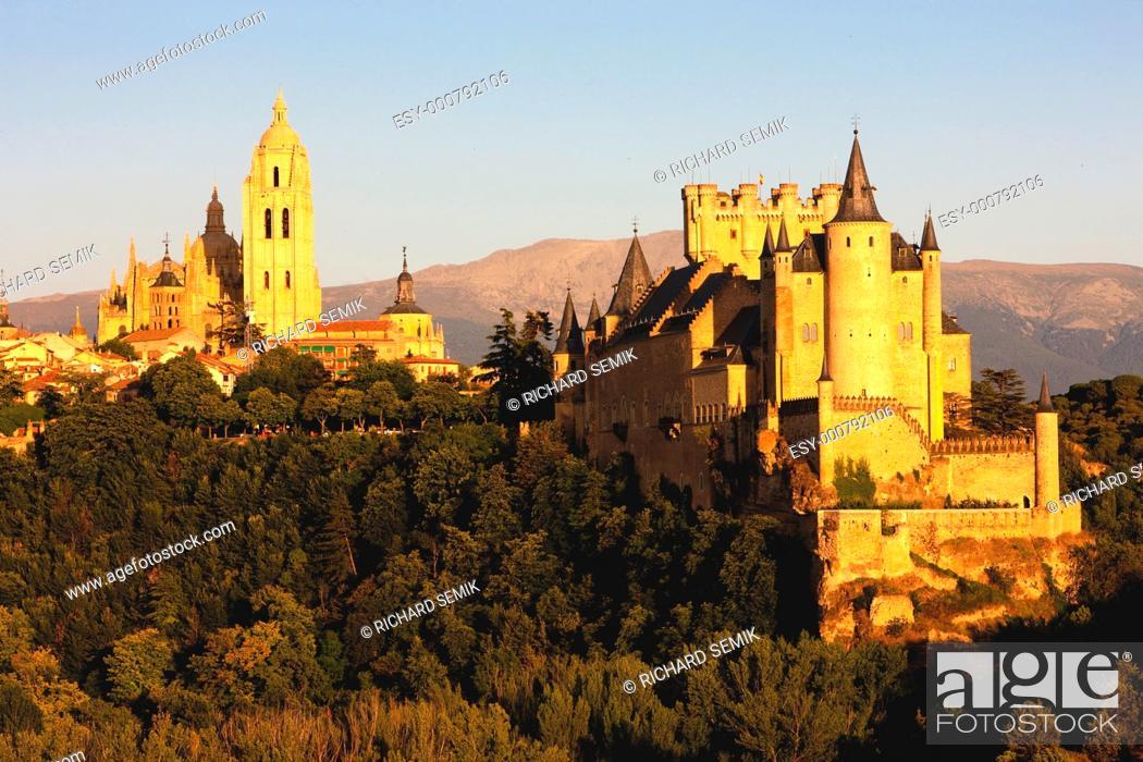 Stock Photo: Segovia, Castile and Leon, Spain.