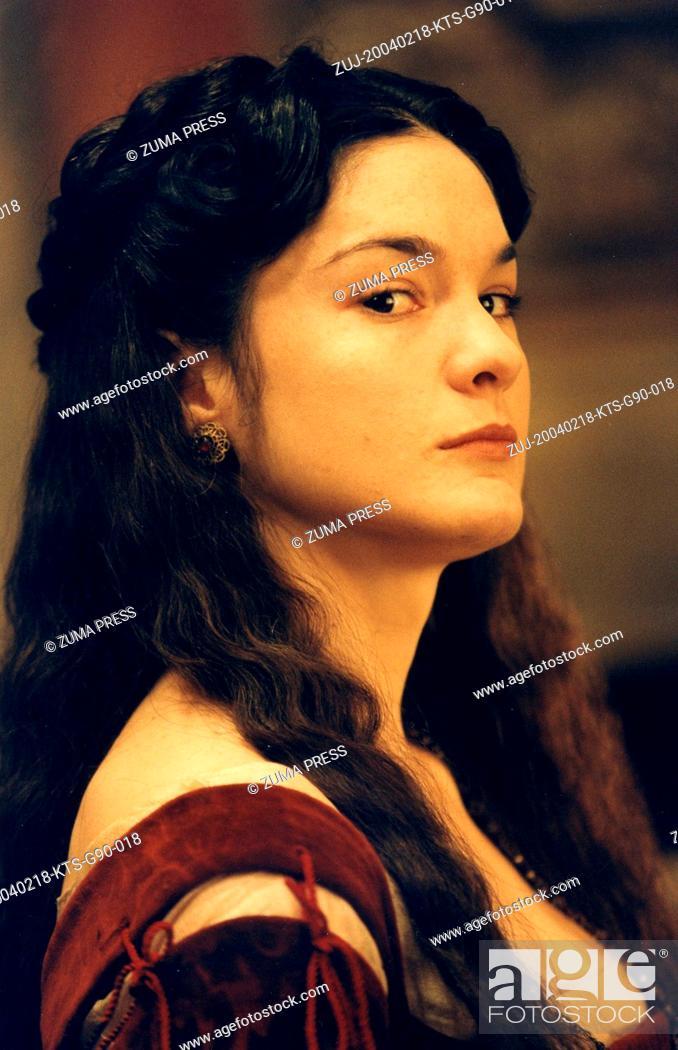 Stock Photo: Feb 18, 2004; London, UK; Image from Michael Radford's drama comedy 'The Merchant of Venice' starring HEATHER GOLDENHERSH as Nerissa.