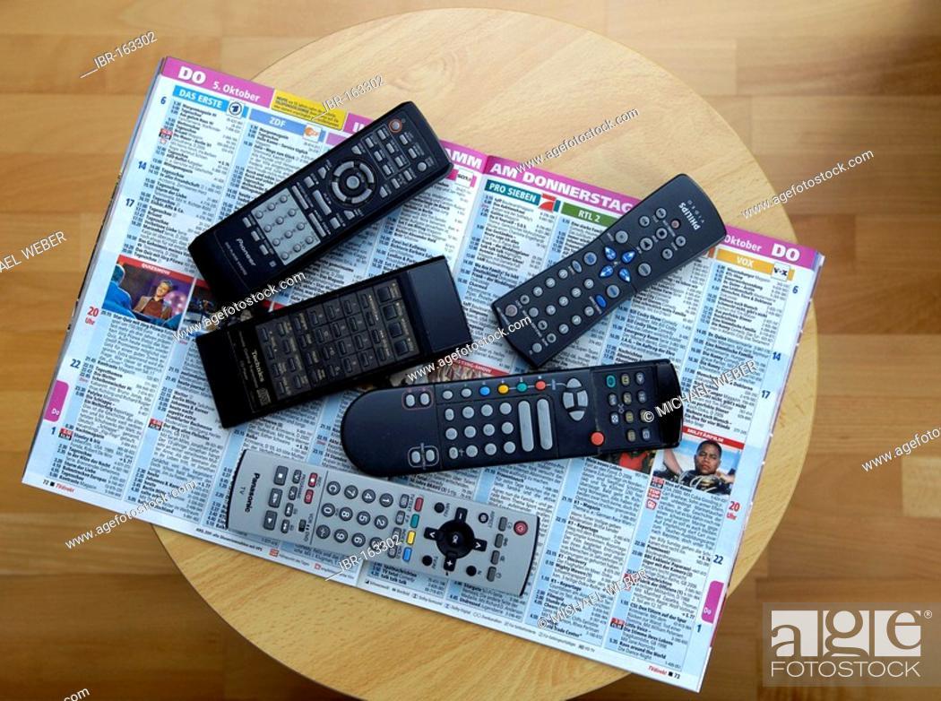 Photo de stock: Remote-controls.