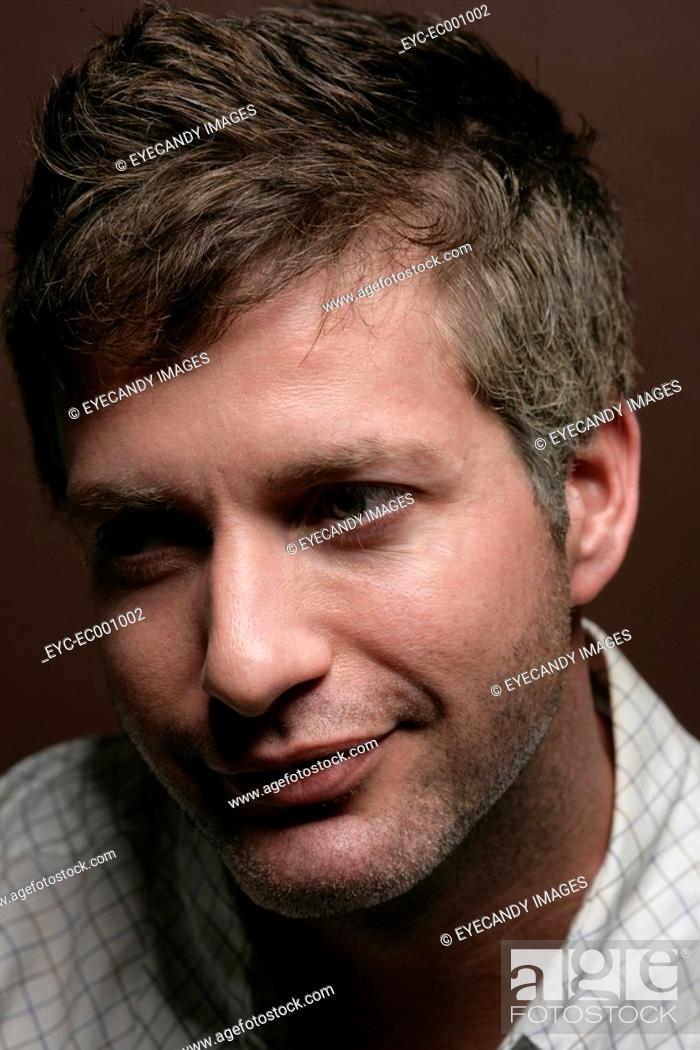 Stock Photo: Portrait of a man.