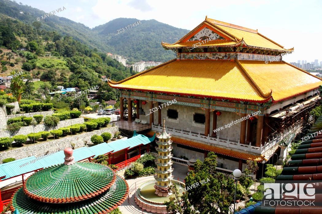 Stock Photo: Malaysia, state Penang, Penang the Buddhist temple Kek Lok Si.