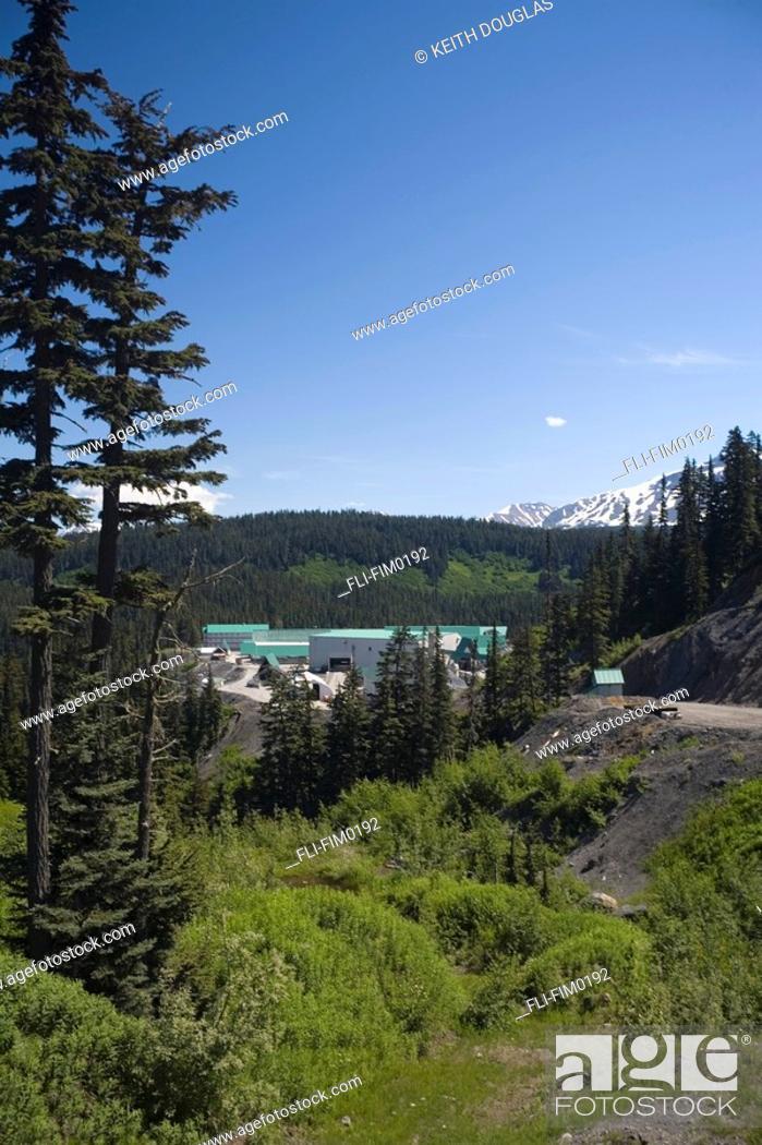 Barrick Gold Co Eskay Creek Gold Mine, Iskut, BC, Stock