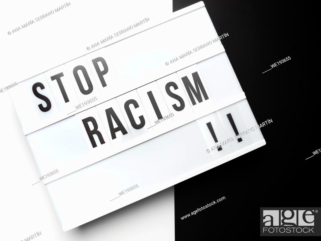 Stock Photo: Black lives matter concept.