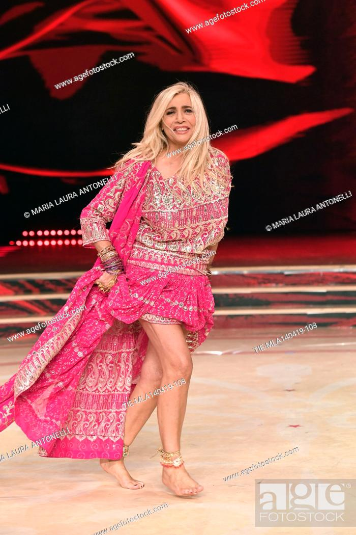 Imagen: Mara Venier during the performance at the talent show ' Ballando con le stelle ' (Dancing with the stars) Rome, ITALY-14-04-2019.