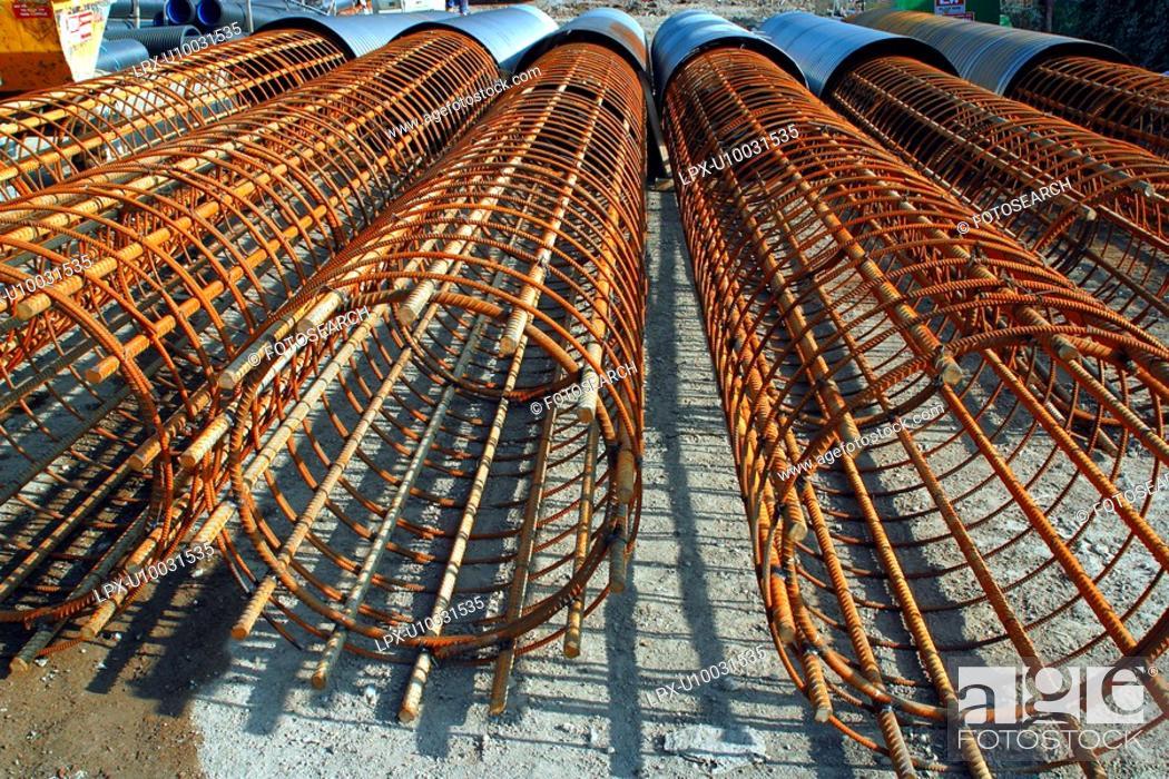 Stock Photo: Steel.