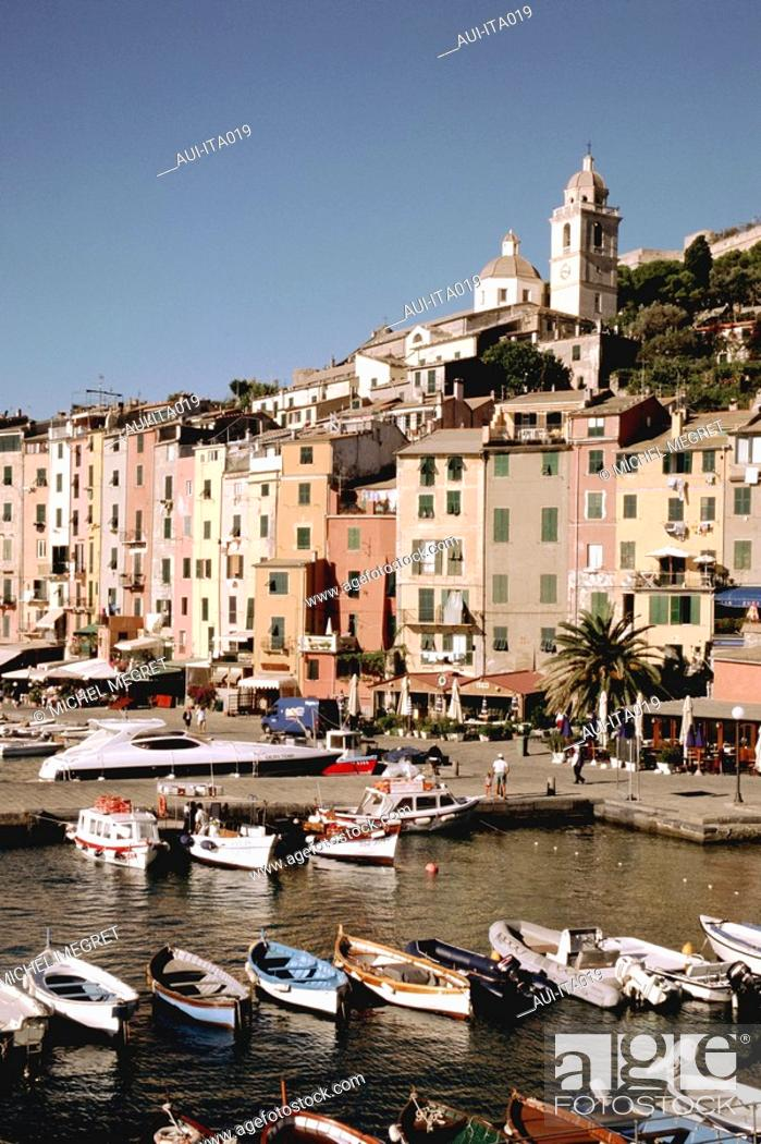 Stock Photo: Italy - Ligury - PortoVenere.