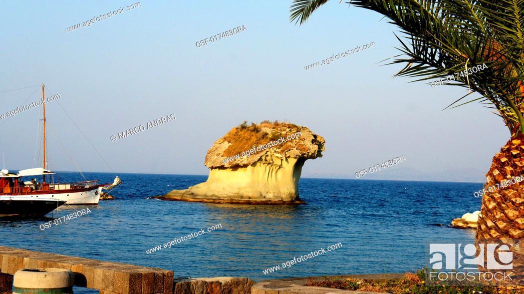 Stock Photo: ischia italiy.