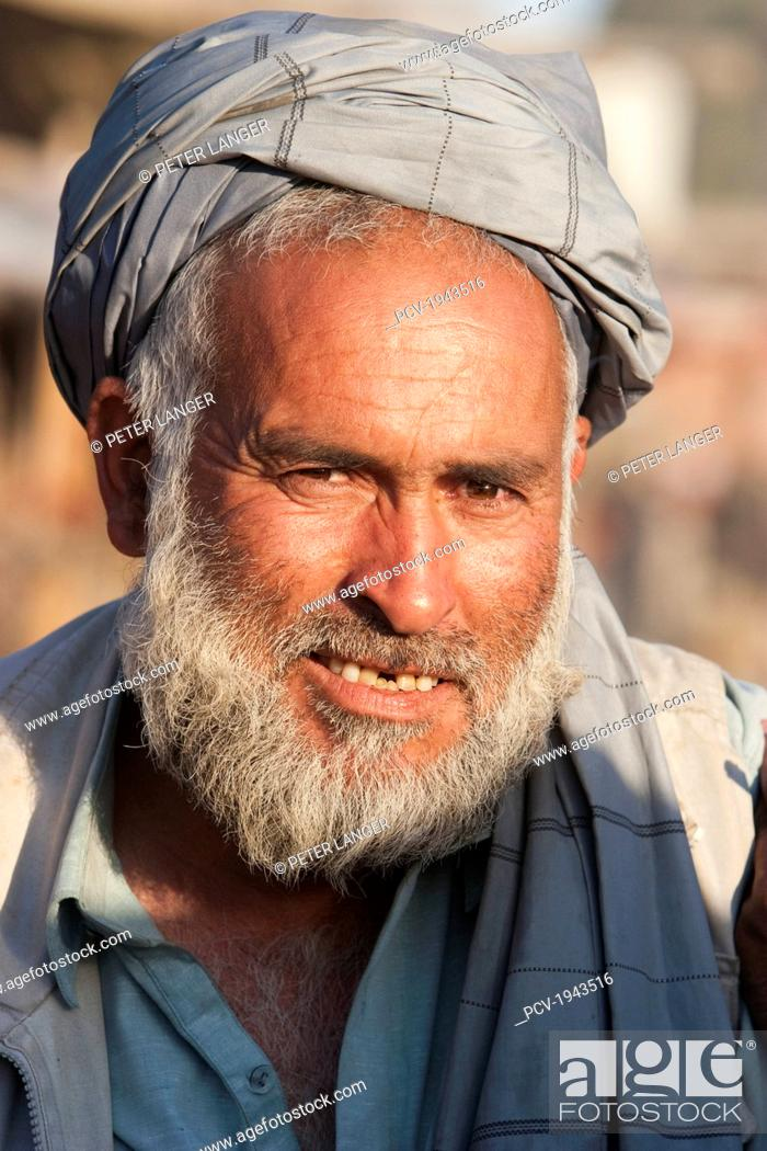 Pashtun Man In Jalalabad, Nangarhar Province, Afghanistan
