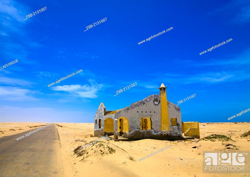 Stock Photo: Tombwa (also known as Tombua or Porto Alexandre) is a city of Namibe Province in southern Angola. It has an estimated population of 40,000 inhabitants.