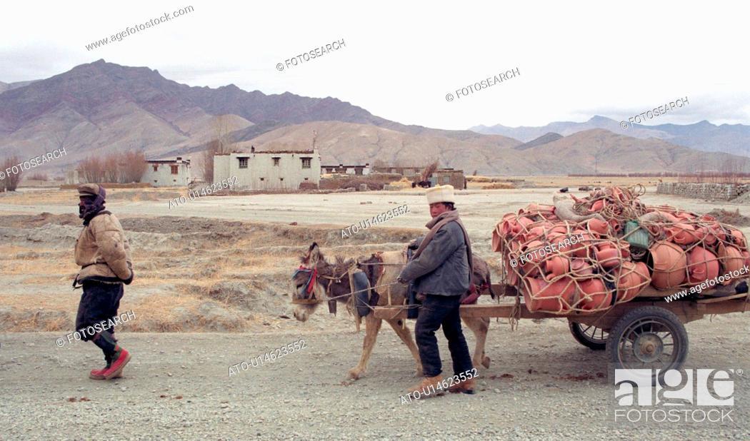 Imagen: Tibet - winter 1993.