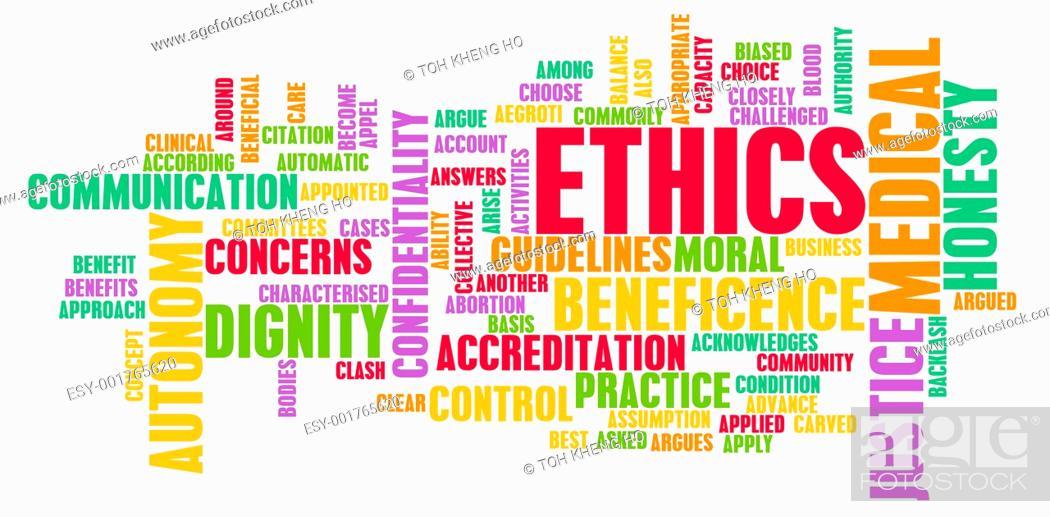Stock Photo: Medical Ethics.