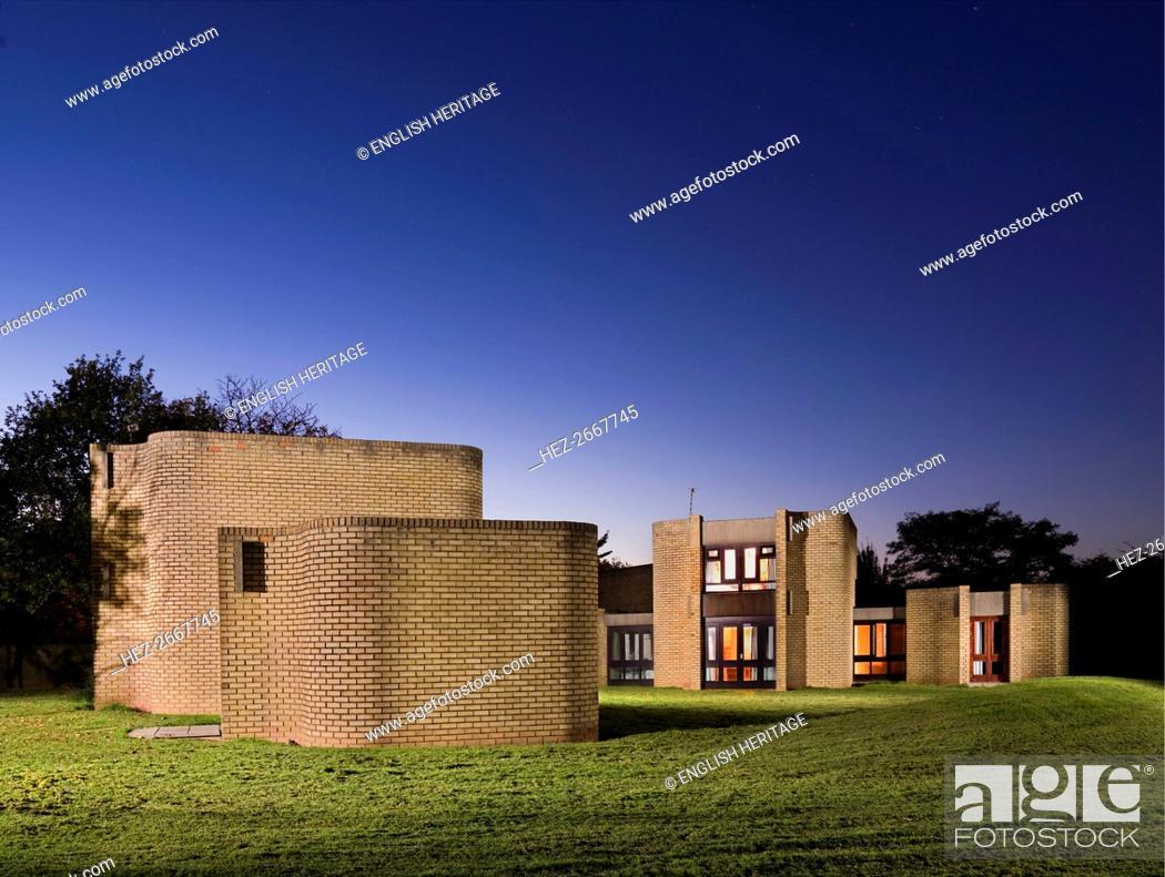 Stock Photo: Houses for Visiting Mathematicians, Gibbet Hill Campus, Warwick University, Warwickshire, 2010. Artist: James O Davies.