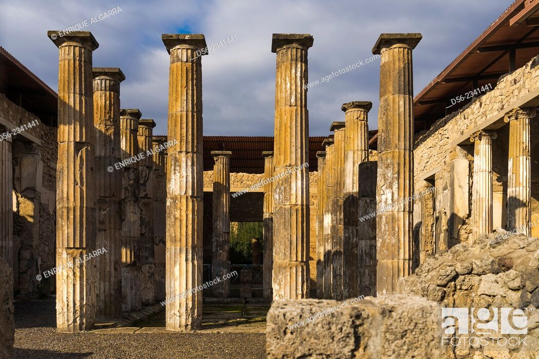 Photo de stock: Pompeii, Naples, Italy.