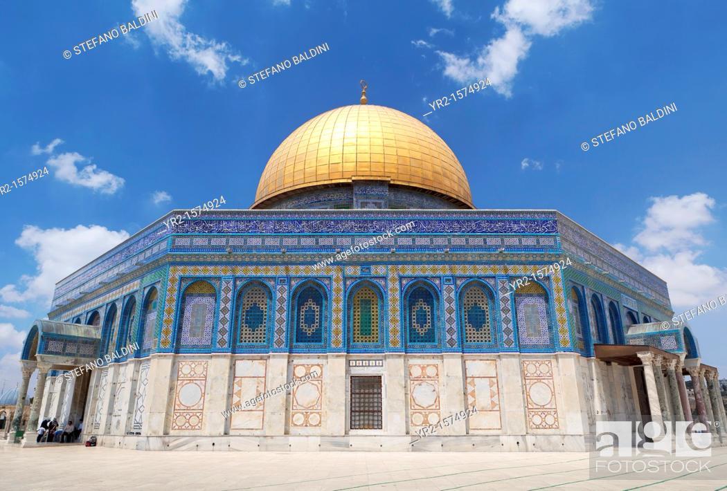 Imagen: The Dome of the rock, east Jerusalem, Palestine.
