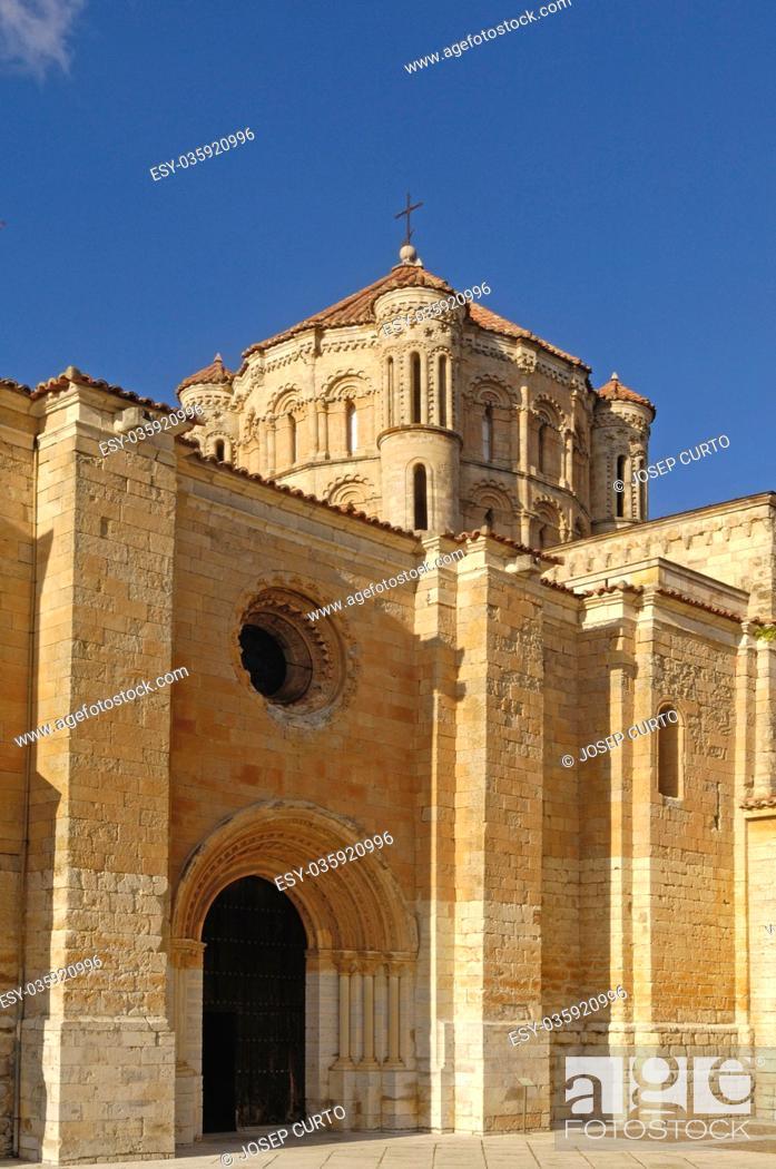 Photo de stock: Collegiate Santa Maria Maggiore, Toro, Zamora, Castile y Leon, Spain.