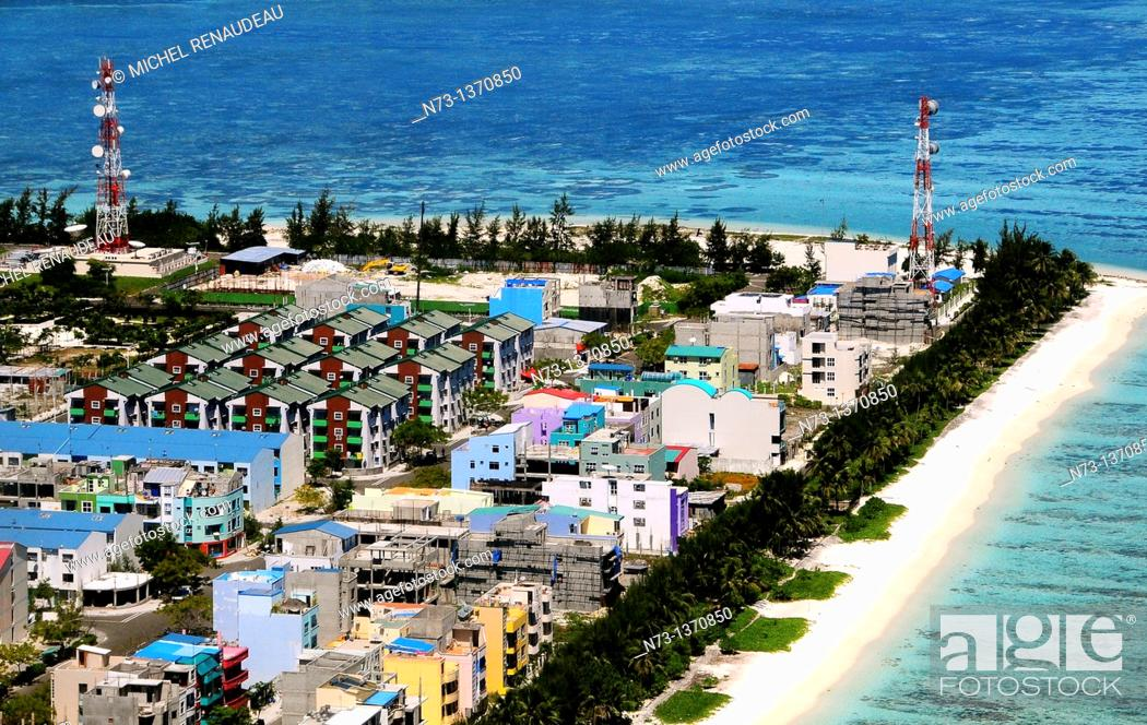 Ndian Ocean Maldives Male City Built And Already Cramped