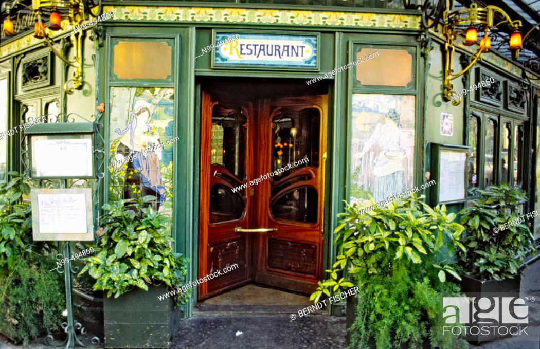 st germain restaurant l assiette au beurre art nouveau style