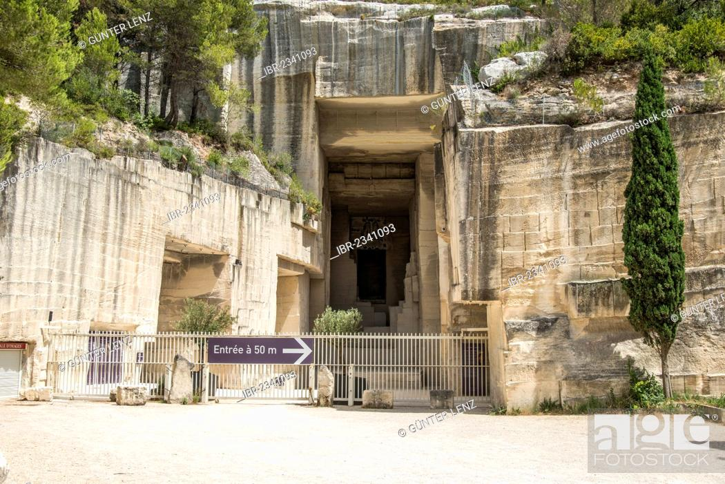 Carrieres Le Lumiere Old Name Of The Cathedrale Des Image Les Baux De Provence Stock Photo Picture And Rights Managed Image Pic Ibr 2341093 Agefotostock