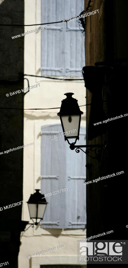 Stock Photo: architecture detail, Beziers, Languedoc, southern France.