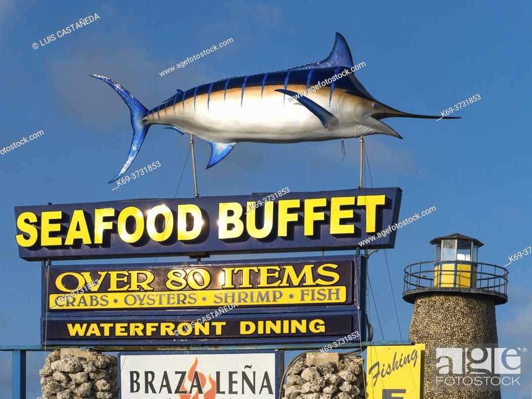 Stock Photo: Florida Keys Restaurant. Islamorada . Florida. USA.