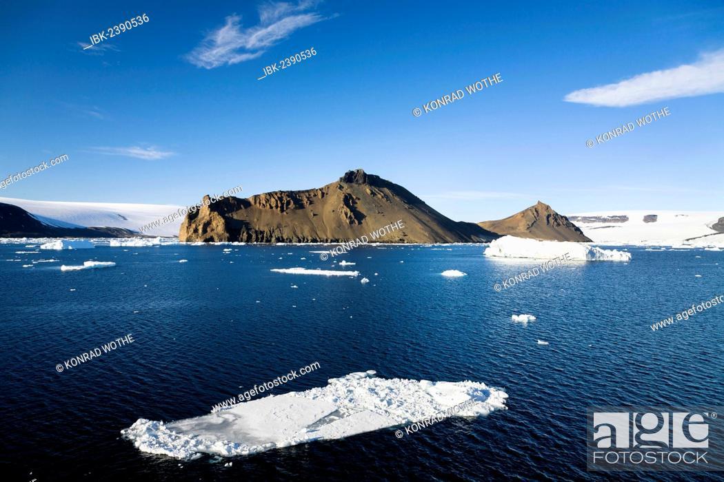 Imagen: Devil Island, Weddell Sea, Southern Ocean, Antarcica.