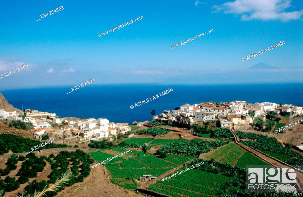 Stock Photo: La Gomera island. Canary Islands. Spain.