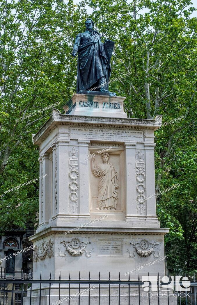 Imagen: France, 20th arrondissement of Paris, Pere Lachaise Cemetery, sepulchre of the president of the French Republic Jean Casimir-Perier (1847-1907).