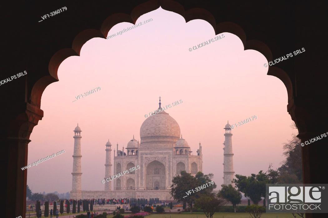 Stock Photo: Asia, India, Uttar Pradesh, Agra district.