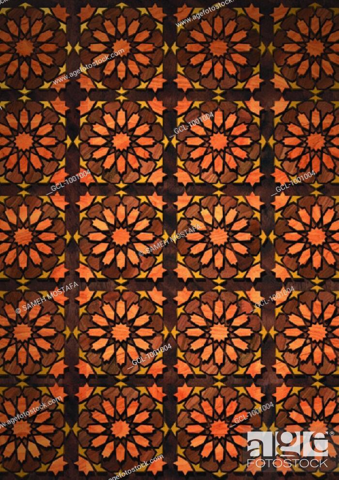 Stock Photo: Arabesque background.