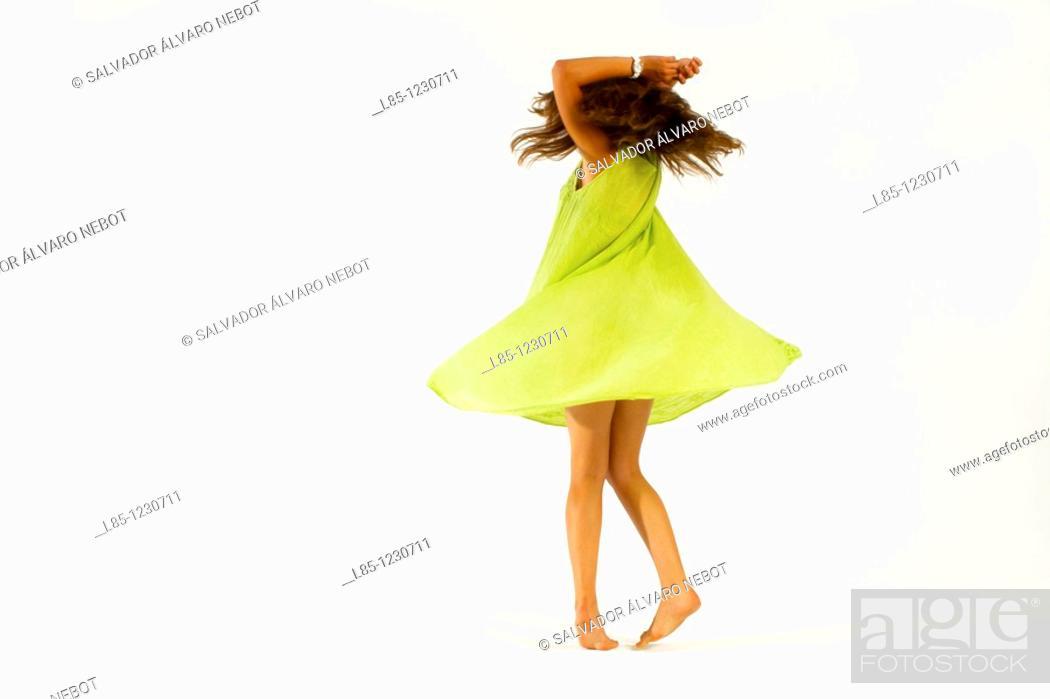 Stock Photo: Dancer.