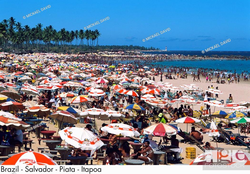 Stock Photo: Brazil - Salvador - Piata - Itapoa.