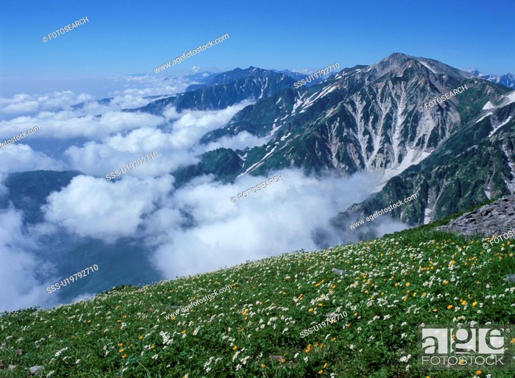 Stock Photo: Nature In Nagano.