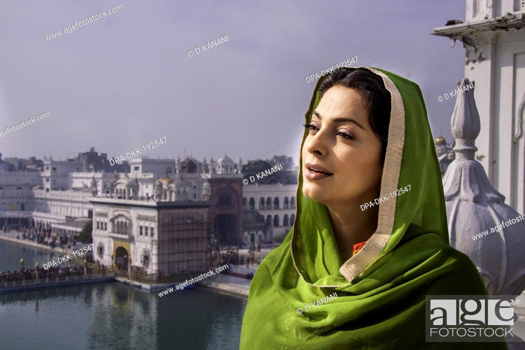 Indian bollywood actress Juhi Chawla Amritsar Punjab India Asia