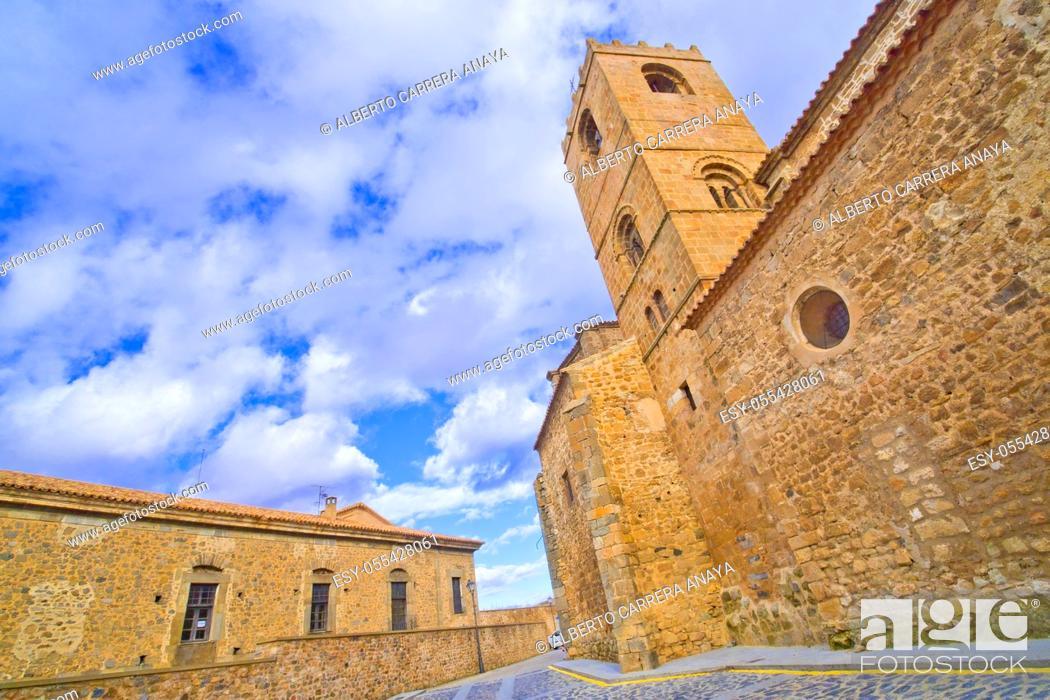 Imagen: San Miguel Church, 12-16th Romanesque-Gothic Style, Soria, Castilla y León, Spain, Europe.