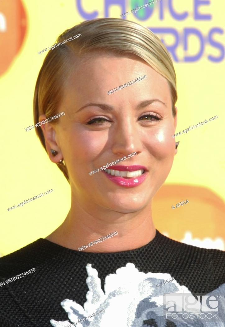 Nickelodeons Kids Choice Awards 2015 Featuring Kaley Cuoco Kaley
