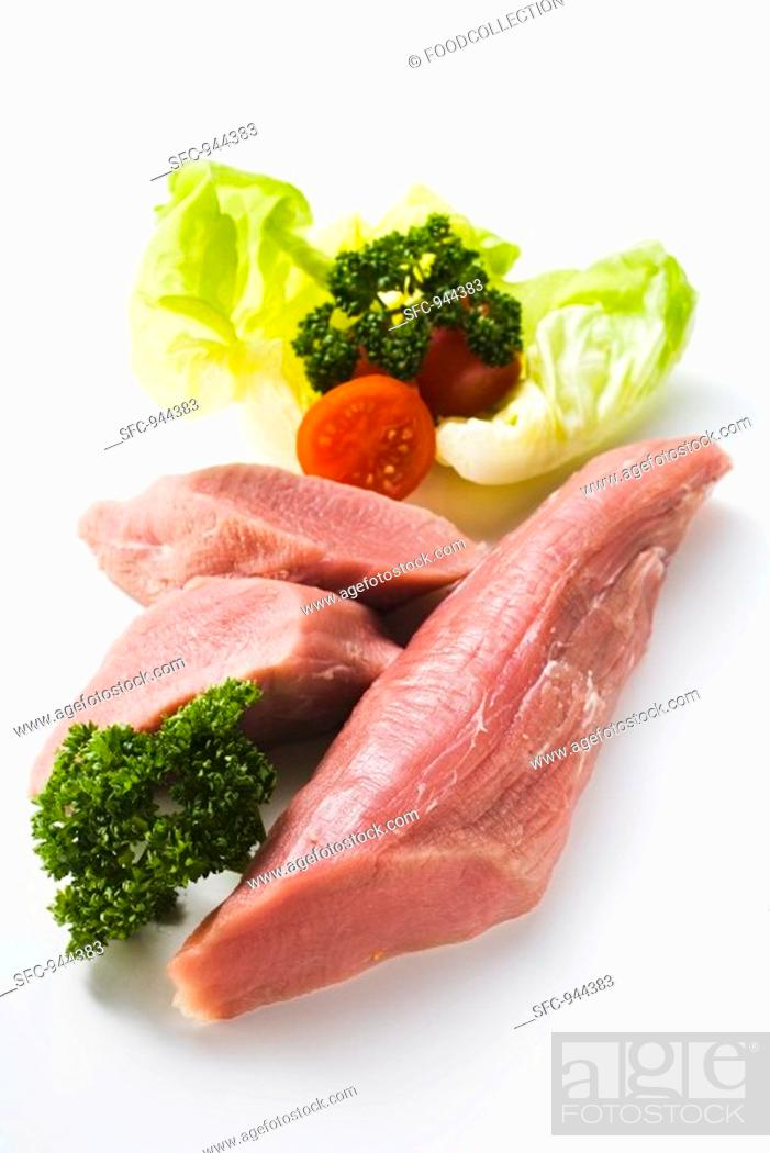 Stock Photo: Veal fillet.