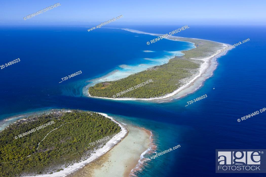Imagen: Almonu Pass of Apataki Atoll, Tuamotu Archipel, French Polynesia.