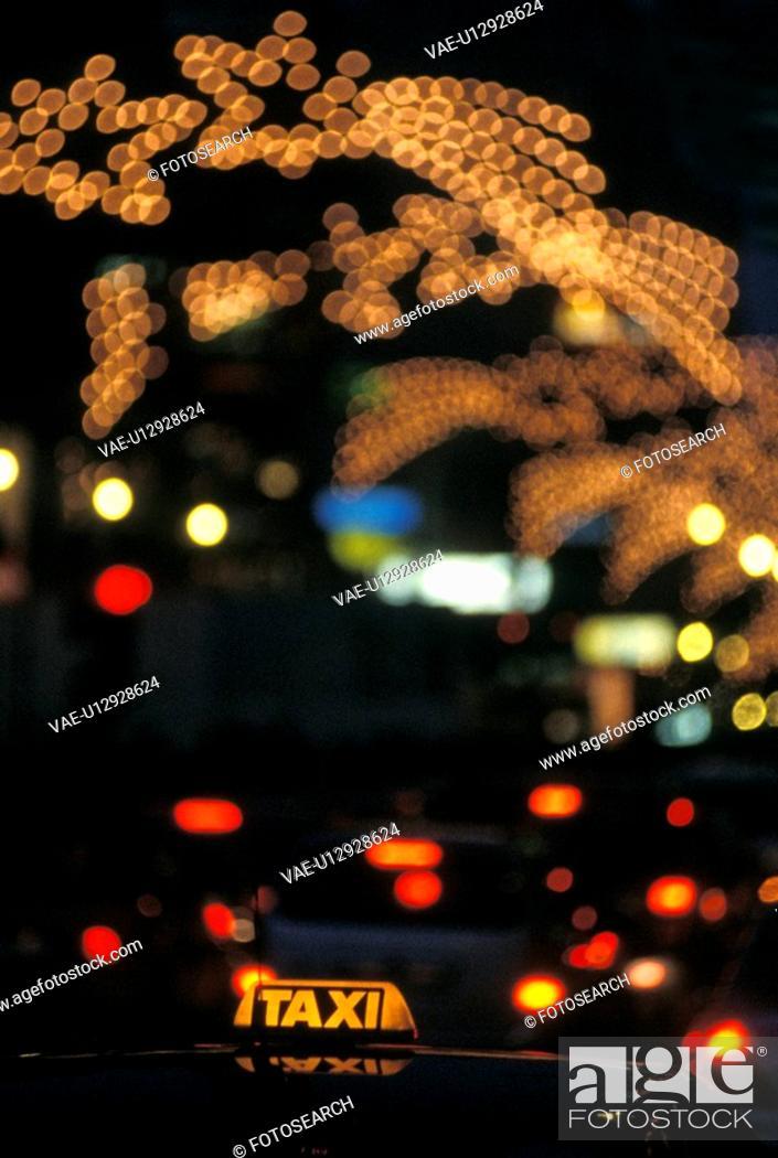 Stock Photo: Christmas lighting, austria, Christmas, calf, cabstand, christmas picture, advent.