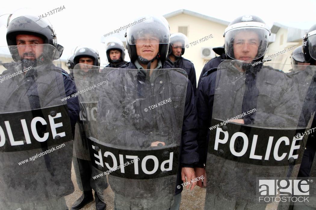 Stock Photo: Police training centre in Kunduz by German army.