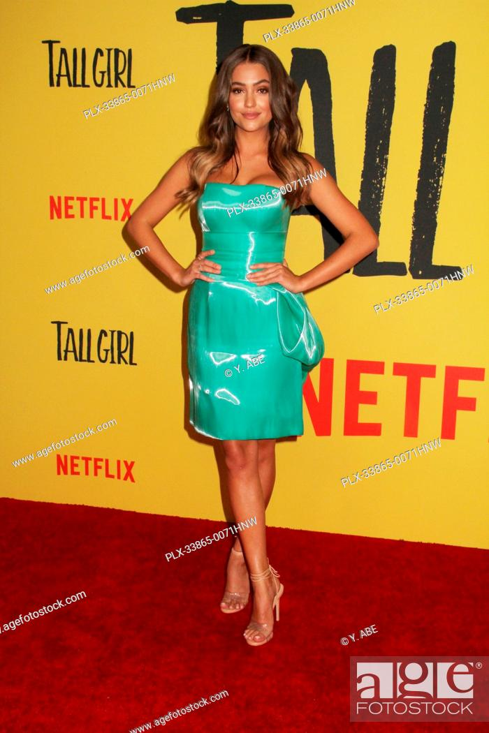 """Stock Photo: Clara Wilsey 09/09/2019 The Los Angeles Special Screening of """"""""Tall Girl"""""""" held at the Netflix in Los Angeles, CA Photo by Y. Abe / HNW/PictureLux."""