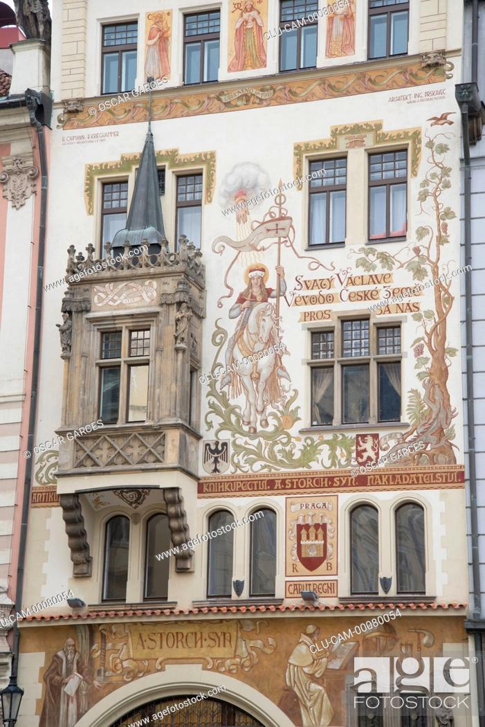 Stock Photo: Historic Centre, Prague, Czech Republic, Central Europe.