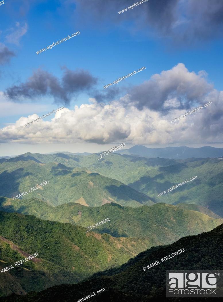 Stock Photo: Landscape of Sierra Maestra, Granma Province, Cuba.